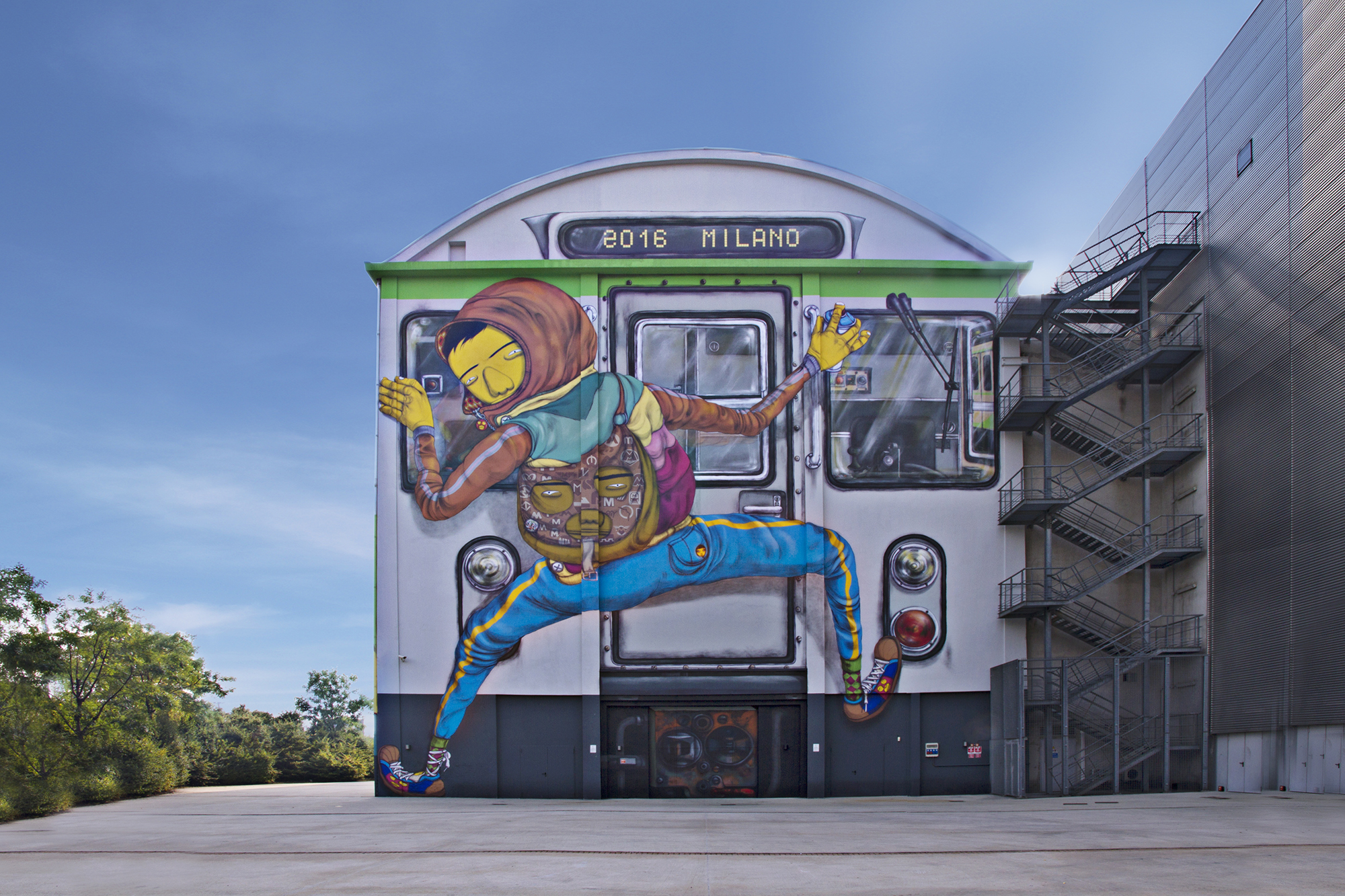 Mural, Milano Hangar Bicocca
