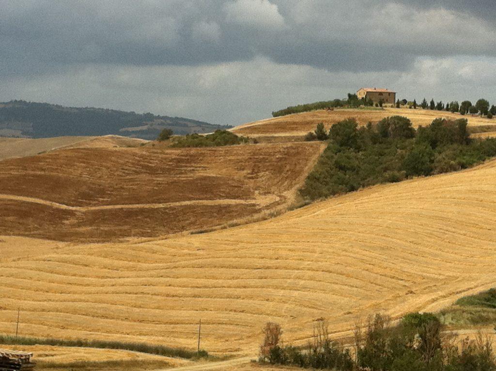 Siena, colline