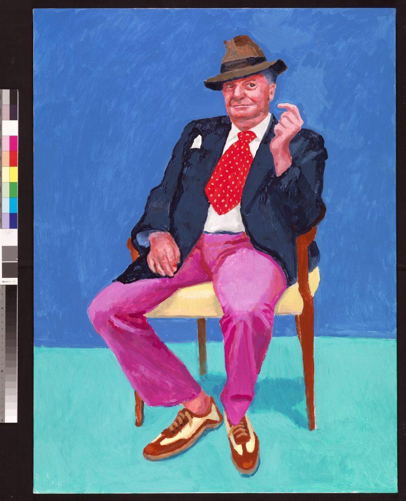 David Hockney. Ph. Richard Schmidt