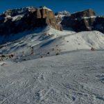 Sciare sulle Dolomiti sulle piste meno battute